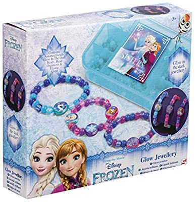 Disney - Frozen CREA tu Pulsera Joyería para Niñas Anna Elsa Olaf Set para Hacer Pulseras por Disney -