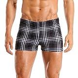CharmLeaks Mens Surf Swimming Shorts Sports Swim Boxer Trunks Bottoms Beachwear Swimsuits