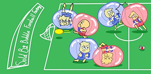 Bubble Fußball Bälle Dia 5 '(1,5 m) Bubble Fussball,Bubble Soccer,Bumper Bälle,Loopyball,Zorb Ball,Luft gefüllten Bälle (Blau Punkt) - 8