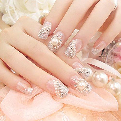 Spritech (TM) 24Pre diseño falso uñas pieza