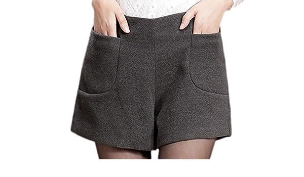 beste Seite süß Rabattgutschein confit you - Damen Modische Winter Shorts mit hohem Bund, 36 ...