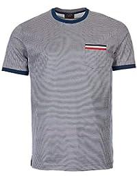 fe6ef47925e4 Paul & Shark T-Shirt - White/Navy Stripe