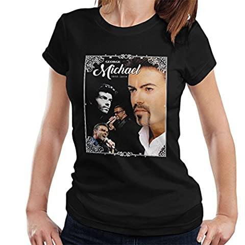 George Michael 1963-2016 Tribute Women's T-Shirt