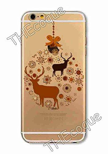 Coque RIGIDE de qualite IPHONE 6/6s PLUS - Joyeux Noel christmas cadeaux hiver drole design Swag motif 6 DESIGN case+ Film de protection OFFERT 8