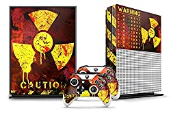 Xbox One S Console + Controller Skin - Meltdown