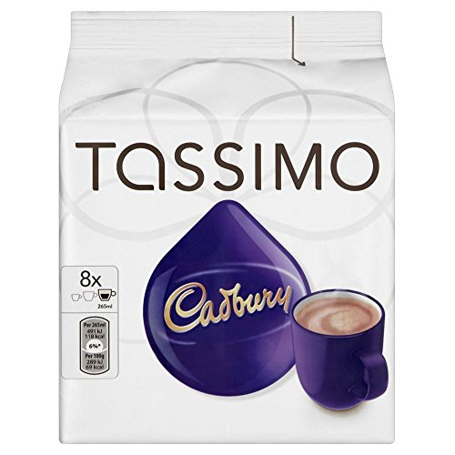 Tassimo Cadbury Fairtrade Hot Chocolate (8x51g) - Packung mit 6