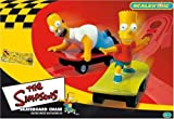 from Micro Scalextric Micro Scalextric G1017 The Simpsons 1:64 Scale Race Sets Model 5010963610173