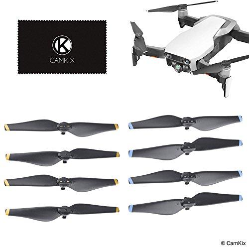 CamKix Propeller Kompatibel mit DJI Mavic Air - 2 Sets (8 Klingen) - Quick Release Faltbare Flügel - Flugerprobtes Design - Wesentliches Zubehör für Ihre DJI Mavic Air