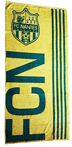 Drap de bain / serviette de plage FC NANTES ATLANTIQUE - FCNA - 70 x 150 cm