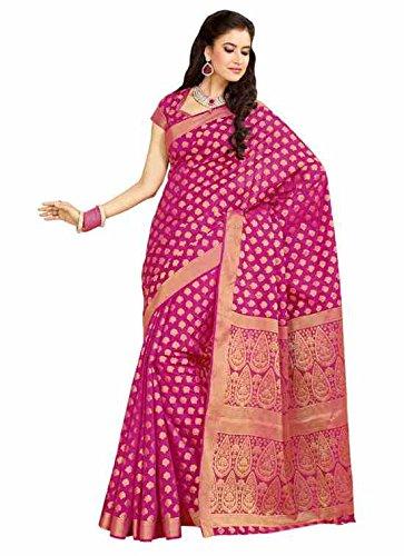 Meghdoot Silk Zari Saree (Mt 234 (Rani) _Pink)