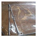 ZHANWEI Plane Gewebeplane Schutzplane Abdeckplane Zeltplane Schwerlast Balkon Transparent...