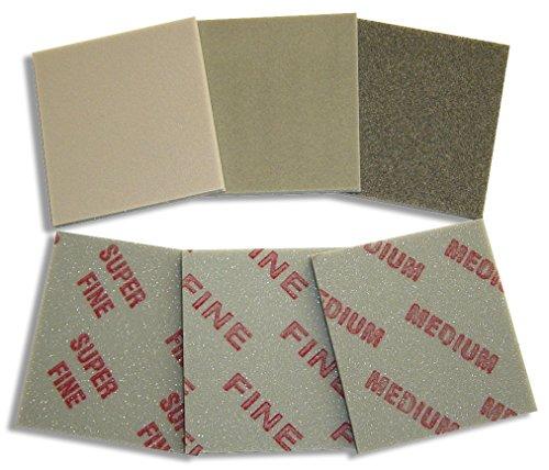 3M™ Soft Pads, 140 x 115 mm - 20 Stück (Pack) (superfine (P400 - P500))