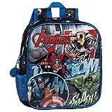 Marvel 2432051 Avengers Street Mochila Infantil, 5.75 litros, Color Azul