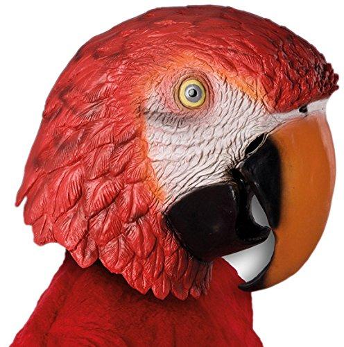 Carnival Toys 1178 - Maske Papagei, bunt