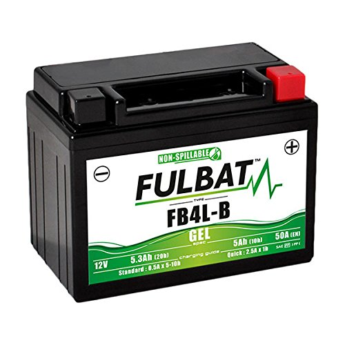 Fulbat - Batteria moto Gel YB4L-B / FB4L-B 12V 5Ah