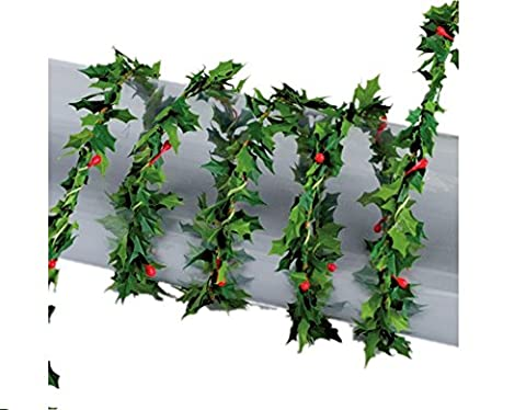 1.2m Mini Garland for Christmas Crafts and Decor - Holly