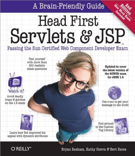 Head First Servlets and JSP: Passing the Sun Certified Web Component Developer Exam by Bryan Basham ( 2008 ) Paperback