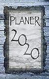 Planer 2020: Wochenplaner für das Kalenderjahr 2020 I jeder Tag bietet viel Platz für Notizen und Termine I ToDo-Liste I Terminkalender I ... I Terminplaner I Design: Silberblau auf Holz - Mein Design-Wochenplaner