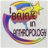 3drose I Believe In Anthropologie Cute Believer Design Maus Pad, 20,3x 20,3cm (MP _ 166226_ 1)