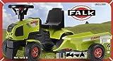 Falquet & Ciet 1012B - Claas Traktorrutscher mit Anhänger Test