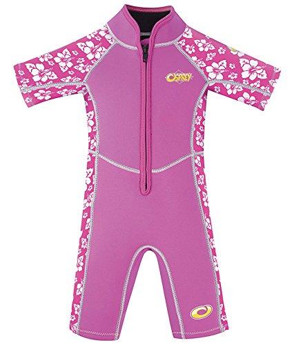 Osprey Kid 's habiscus Sommer Neoprenanzug–Pink, 2Jahre