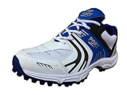 Port Mens Advance Play Blue Synthetic Cricket Shoes(Size 5 Ind/Uk)