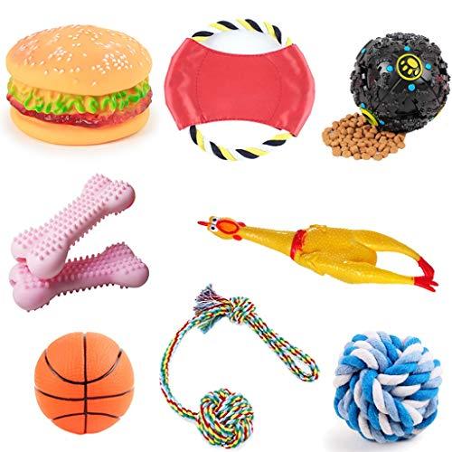 LF stores Hunde Spielzeug Toy Ball Schreien Huhn Hund Frisbee Welpen Gesang Molaren Toy Dog Training Zubehör Spielzeug für Haustiere