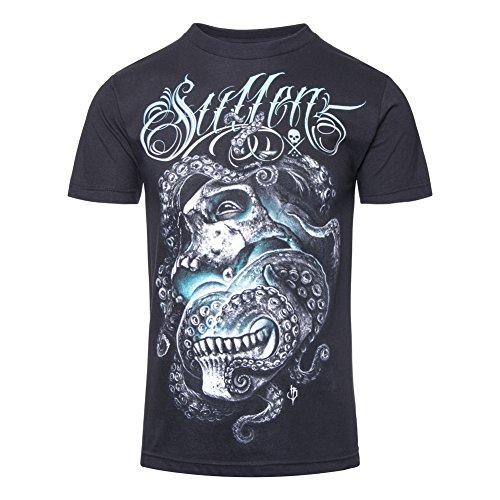 T Shirt Darkness Sullen (Nero) - Small