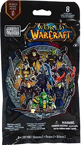 Mega Bloks World of Warcraft Series 1 Figures