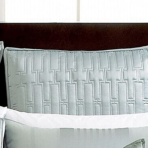 Hotel Collection Classic Standard-Sham Stripe, gesteppt, Frost