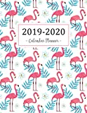2019-2020 Calendar Planner: 2019 - 2020 Two Year Calendar Planner | Daily Weekly And Monthly For Academic Agenda Schedule Organizer Logbook and Journal Notebook | Pink Flamingo Cover: Volume 1
