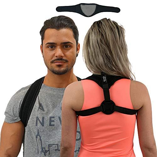 DIIBRA Bodystyler 2.0 | Haltungskorrektur Rücken + Nackenstütze | Geradehalter für Damen & Herren | Posture Corrector