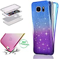 Galaxy Note 8 Glitzer Hülle,Bling Glitter Galaxy Note 8 Double Side Full Body Silikon Schutzhülle,Leeook Cute... preisvergleich bei billige-tabletten.eu