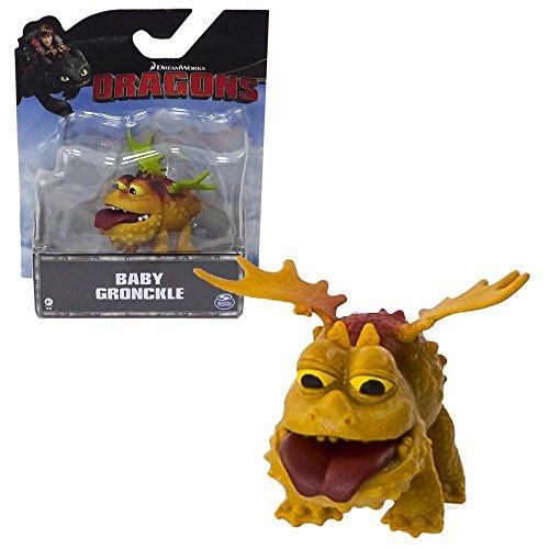 Dragons - Mini Spielfigur - Drache Baby Gronckel - Gronckle