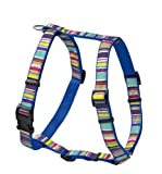 Hunter Hundegeschirr Ecco Sport Fun Stripes Vario Rapid XS, blau/gestreift