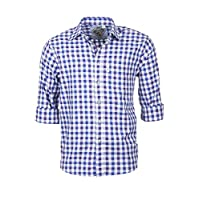 Rydale Mens Country Check Shirts (L, Otley Blue)