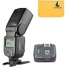Godox TT600 2.4G Inalámbrico Cámara Flash Speedlite + X1T-C TTL Transmisor para Canon(TT600+ X1T-C)