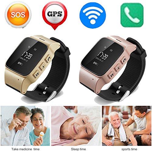 Nuevo D99. Reloj Inteligente Antipérdida, Mini Impermeable, WiFi, smartwatch, GPS de Seguimiento para Las Personas.