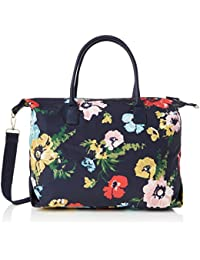 Joules Kembry Print Canvas Weekend Bag