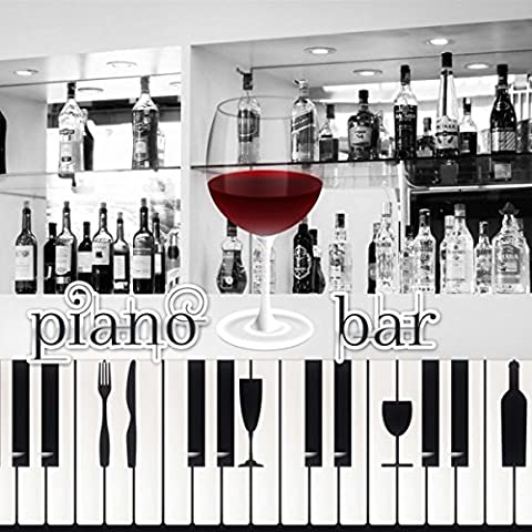 Piano Bar - Smooth Jazz for Wine Tasting, Cocktail Party, Dinner Party, Romantic Dinner for Two, Piano Bar Cocktail Lounge, Background Piano Music, Candlelight Dinner