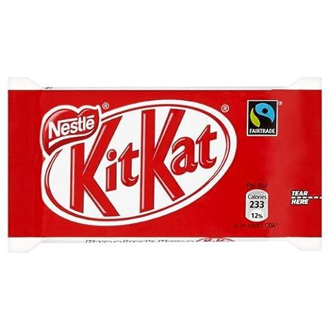 Kit Kat 4 Finger Fair Trade 45g (Packung mit 48 x SGL)
