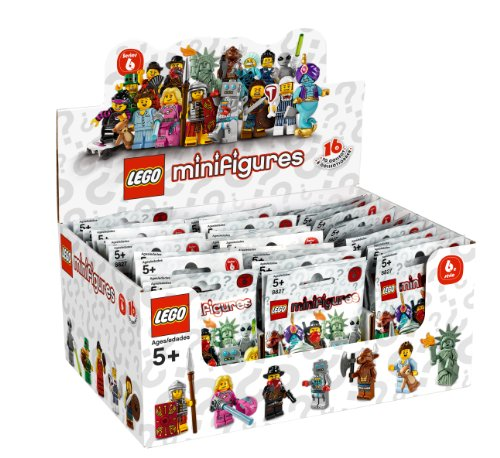 Lego 8827 Minifiguren Serie 6 Display (Lego-mini-serie 6)