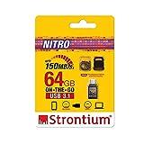 Strontium Nitro64Gb One OTG 3.1 150 MBPS (Grey)
