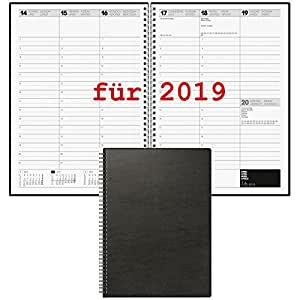 brunnen buchkalender 2018 din a4 1woche 2seiten. Black Bedroom Furniture Sets. Home Design Ideas