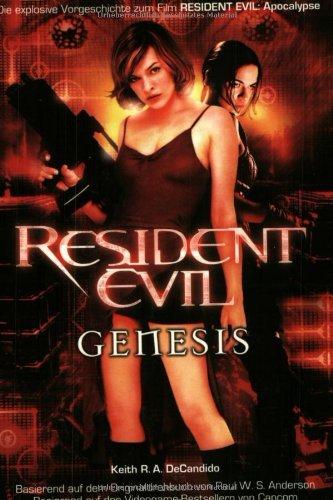 Resident Evil Genesis, Horror Science Fiction Roman. Dino Panini ; 383321130X