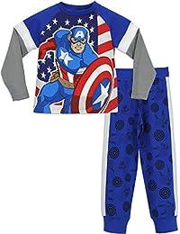 Marvel - Pijama para Niños - Avengers Captain America