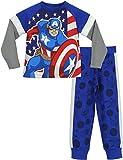 Marvel Avengers - Pigiama a maniche lunga per ragazzi di - Captain America - 8 - 9 Anni