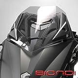 Biondi Cupolino con diseño en relieve adecuado, si está moldeado fumãƒâ ¨ claro para T-Max Yamaha 530-desde 2012