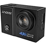"""Andoer C5 Pro 4K/30fps Action Camera 1080P/120fps 720P/240fps Full HD Ambarella A12S75 16MP WiFi Waterproof Diving 30m 2.0"""" LCD 170 Degree Wide Angle Lens Anti-shake Gyro Sports DV Cam"""