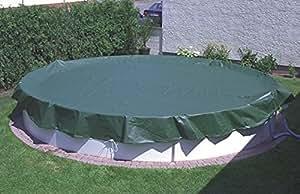 Gartenwelt Riegelsberger Pool Ganzjahresabdeckplane Ø 630 cm für Rundbecken Ø 550 cm 41729